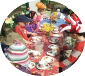 Borrowby Nursery School Mad Hatters Tea Party